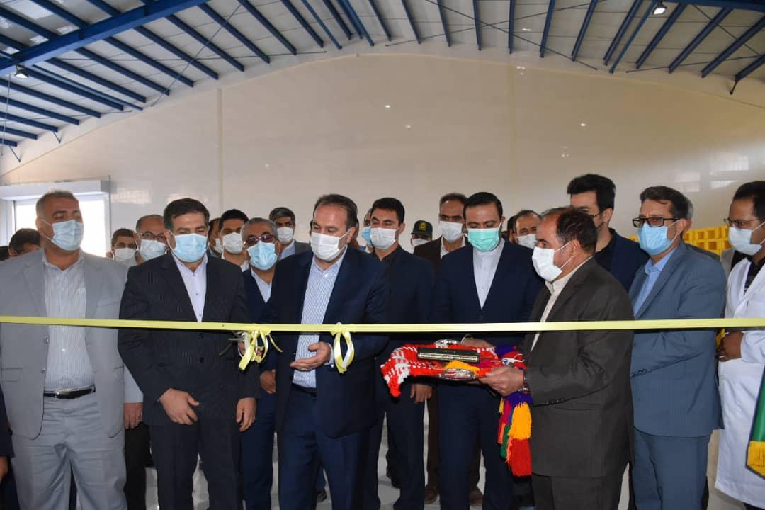 آئین افتتاح و کلنگ زنی ۸ طرح صنعتی استان فارس به مناسبت هفته دولت