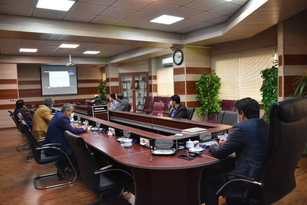 رئیس سازمان صنعت، معدن و تجارت استان فارس در جلسه ویدئو کنفرانسی وزیر صمت با روسای سازمان ها
